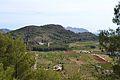 Vistes des de la pujada a l'ermita de sant Sebastià, Murla.JPG