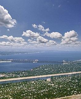 dam in Russia