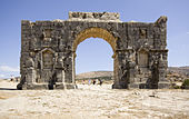 Volubilis Arch of Caracalla south side.jpg