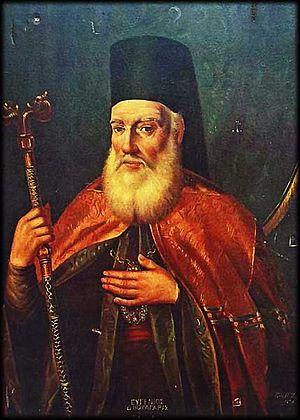 "Eugenios Voulgaris - Eugenios Voulgaris, 19th-century educator (""Teacher of the Nation""), and Archbishop of Cherson, Ukraine."