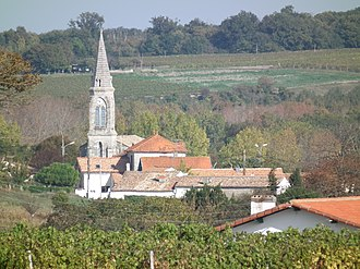 Barzan, Charente-Maritime - View of Barzan village