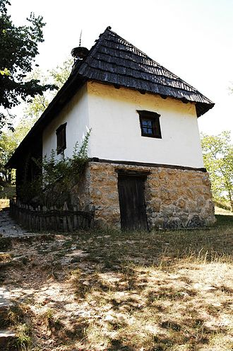Vuk Karadžić - Vuk Karadžić's house today in the all-museum village Tršić.
