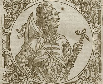 Prussian uprisings - Grand Duke Vytenis, who the Prussians hoped would help defeat the Teutonic Knights in 1295