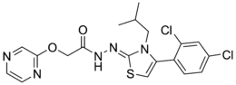 Skeletal formula of WAY-208,466