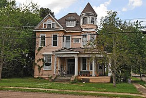 National Register of Historic Places listings in Pike County, Mississippi - Image: WILLIAM FREDERICK HOLMES HOUSE, MCCOMB, PIKE COUNTY, MS