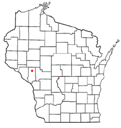 Location of Hale, Wisconsin