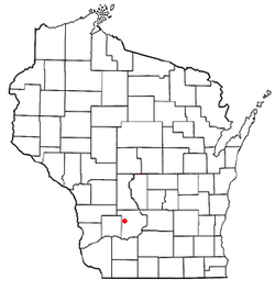 Location of Lime Ridge, Wisconsin