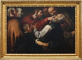 WLA cma Christ Healing the Blind Man c 1640