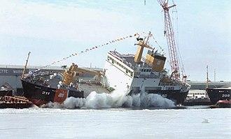 USCG seagoing buoy tender - Image: WLB Oak 211 2
