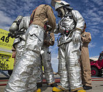 WTI Aviation Ground Support Students Get a Taste of Firefighting 140909-M-NB398-004.jpg