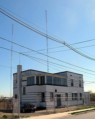 WWRL - Transmitter building in Secaucus, New Jersey