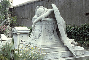 Angel of Grief - The original Angel of Grief in Rome