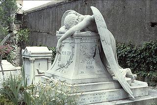 <i>Angel of Grief</i> sculpture