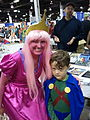 WW Chicago 2012 - Martian Manhunter with Princess Bubblegum (7760831574).jpg