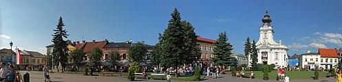 Wadowice - John Paul II Square.jpg