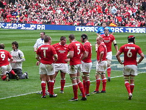 2008 Six Nations Championship - The Welsh team that won the Grand Slam