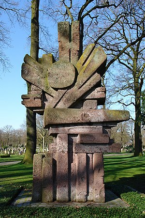 Bremen Soviet Republic - The memorial to individuals killed defending the Bremen Republic.
