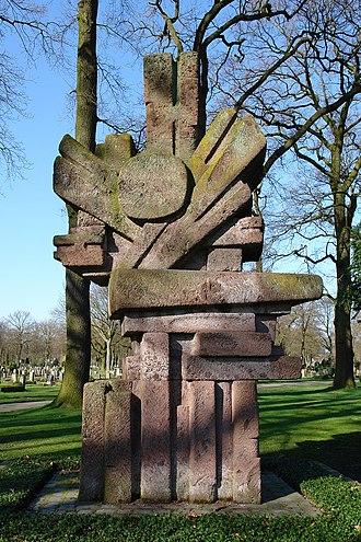 Bremen Soviet Republic - The memorial to individuals killed defending the Bremen Republic.