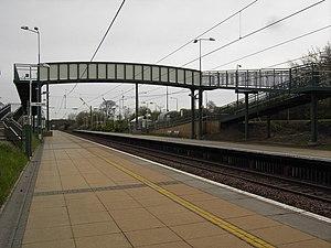 Wallyford railway station - Image: Wallyford railway station 1