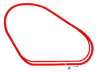 Map of Walt Disney World Speedway
