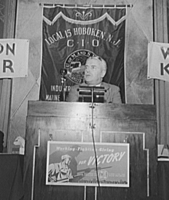 Walter Nash - Nash speaking in New York City in September 1942