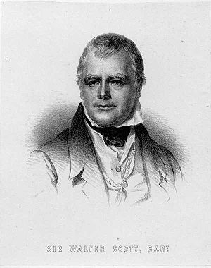 English novel - Sir Walter Scott
