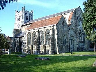 Edward Denny (soldier) - The elaborate monument to Sir Edward Denny is at Waltham Abbey Church in Essex
