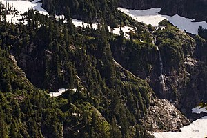 Ecology of the North Cascades - Image: Waterfall 6966