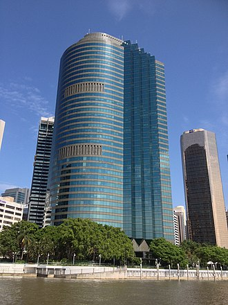 Waterfront Place, Brisbane - Image: Waterfront Place, Brisbane 02.2014 01