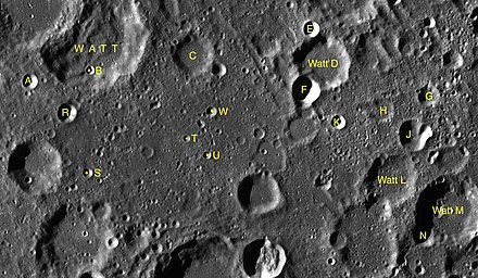 Satellite craters map Watt sattelite craters map.jpg