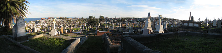 Waverley Cemetery Sydney August 2008