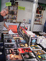 File:WeHo Book Fair 2010 - horror selections available at the Comic Bug booth (5028031473).jpg