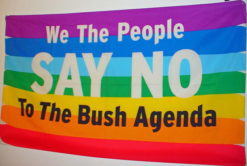 We the People Say No to the Bush Agenda by David Shankbone.jpg