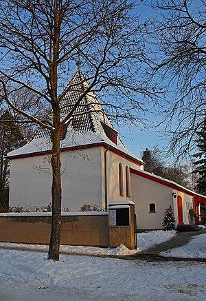 Deutsch: Weiße Weihnachten 2010 in Köln-Dünnwa...