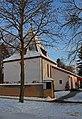 Weisse Weihnachten in Duennwald - Evangelische Kirche.jpg