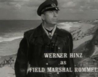 Werner Hinz German actor