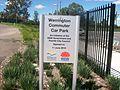 Werrington railway station carpark sign.jpg