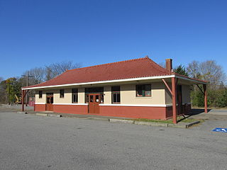 West Barnstable station Railway station in West Barnstable, Massachusetts
