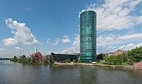 Westhafen, Frankfurt, East view 20170514 4.jpg