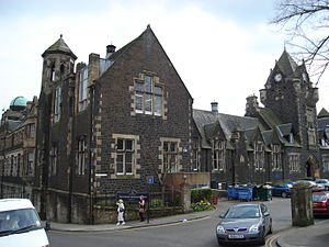 Stirling High School - The 1850s building