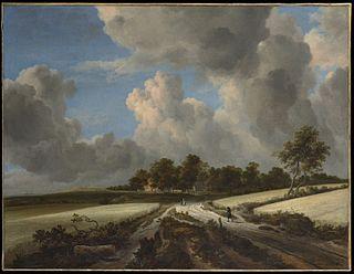 <i>Wheat Fields</i> (van Ruisdael) painting by Jacob van Ruisdael