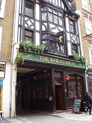 The Wheatsheaf, Fitzrovia - The Wheatsheaf