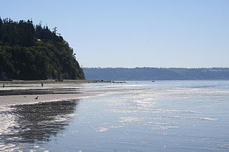 Whidbey Island - Cultus Bay at Low Tide