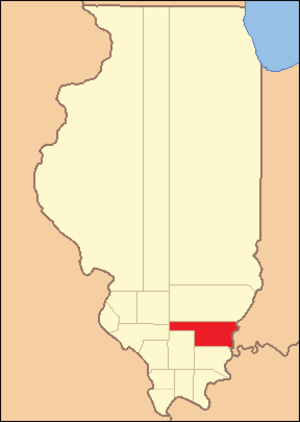 White County, Illinois - Image: White County Illinois 1818