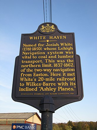 White Haven, Pennsylvania - Image: White Haven, Pennsylvania (4037154290)