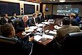 White House teleconference for Hurricane Sandy.jpg