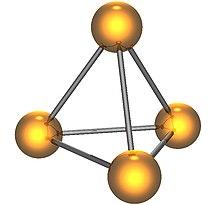 Resultado de imagen de fosforo blanco estructura