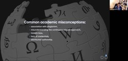 Файл:Why the academic world still does not trust Wikipedia and how can trust be increased.webm