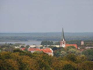 Szczecinek Place in West Pomeranian Voivodeship, Poland