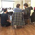 WikiDay 2015 - Three Wikipedians 1.jpg